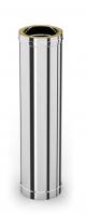 DW-100 100 cm buisdeel RVS