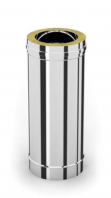 DW-100 50 cm buisdeel RVS