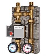 "Pompgroep geisoleerd vaste brandstoffen max 28kW - 3/4""F 60 graden"