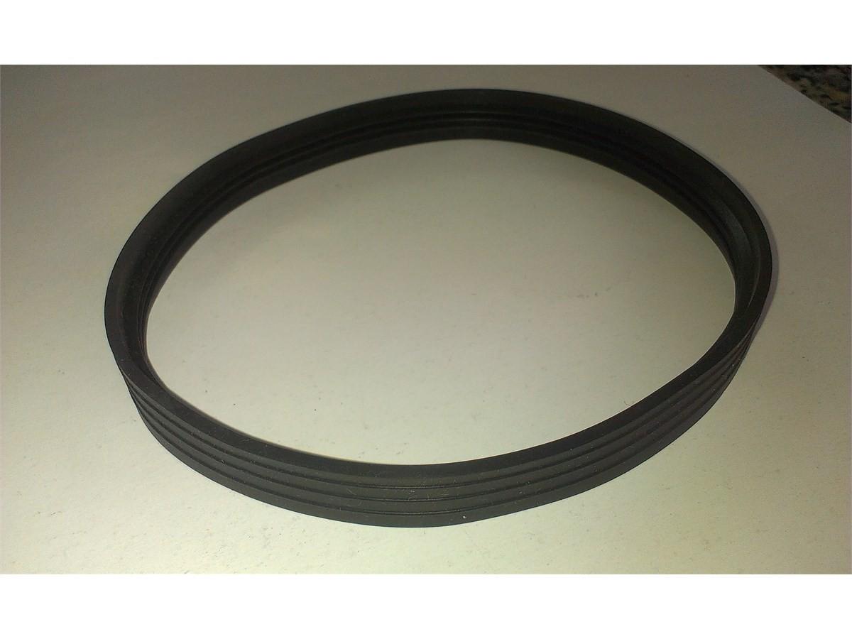 Pelletkachelpijp 1.2mm 80 siliconenring